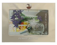 Pebble Beach Heritage Logo Horizontal & Vertical Silver Picture Frames