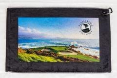 Pebble Beach 7th Hole Photo Golf Towel