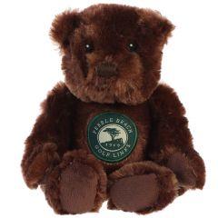 Pebble Beach Beanie Bear-Chocolate