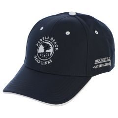 Pebble Beach Men's Bucket List Hat by The Game-Navy