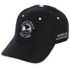 Pebble Beach Men's Bucket List Hat by The Game-Black