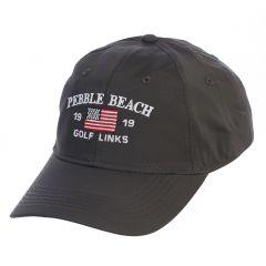 Pebble Beach Men's Tech American Flag Hat by Ahead