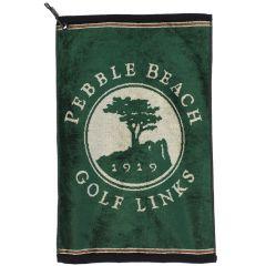 "Pebble Beach ""Birch"" Golf Towel-Forest"