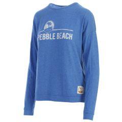 Pebble Beach Ladies Royal Haachi Sweatshirt