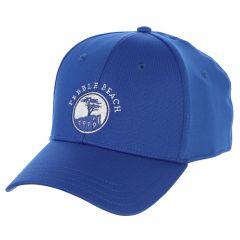 Pebble Beach Flex-Fit Hat by Pukka-Cobalt Blue-SM/MD