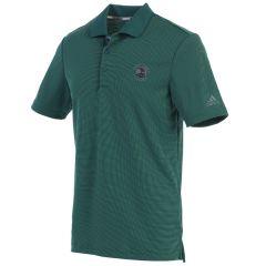 Pebble Beach Men's 2-Color Stripe Polo by Adidas Golf-Green-S