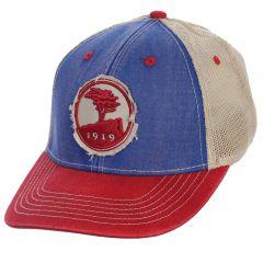 Pebble Beach Distressed Trucker Hat
