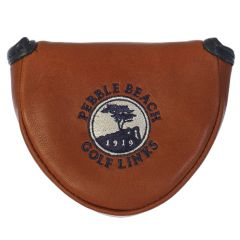 Pebble Beach Mallet Putter Cover by Links & Kings