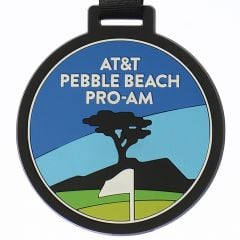 AT&T Pebble Beach Pro-Am Rubber Bag Tag