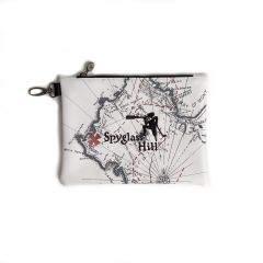 Spyglass Hill Map Zipper Tote Bag by PRG
