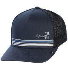 "Spyglass Hill 'Brown"" Flexfit Hat by Travis Mathew"