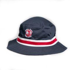 Pebble Beach Cotton Twill Bucket Hat-Navy-SM/MD