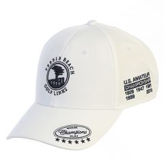 Pebble Beach Men's Championship Hat by The Game-White