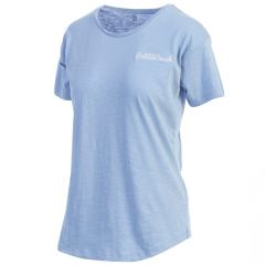 Pebble Beach Women's Round Neck T-Shirt by Kate Lord
