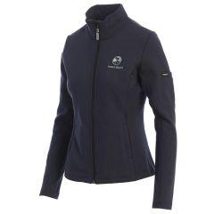 Pebble Beach Ladies Swing Full Zip Jacket by Straight Down-Navy-XS