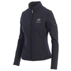 Pebble Beach Ladies Swing Full Zip Jacket by Straight Down-Navy-S