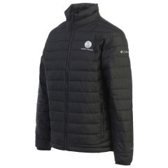Pebble Beach Men's Powder Lite Jacket by Columbia-Black-L