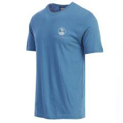 Pebble Beach Men's 'Map' T-Shirt by American Needle-Royal-S