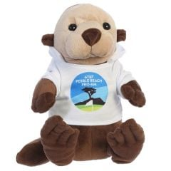 AT&T Pebble Beach Pro-Am Sea Plush Sea Otter with Hoodie