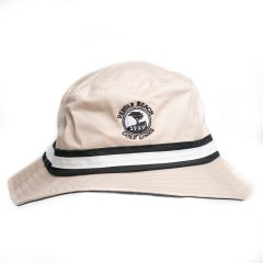 Pebble Beach Cotton Twill Bucket Hat-Bone-LG/XL