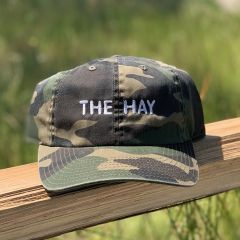 The Hay Camo Twill Cap by American Needle