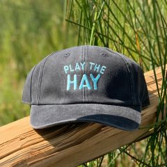 PLAY THE HAY Wash Twill Cap by American Needle