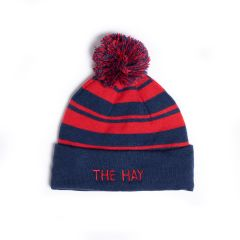 The Hay Stripe Knit Cuffed Cap by Imperial