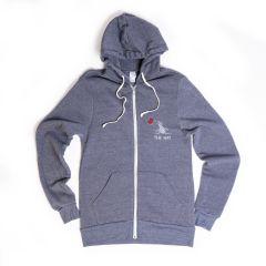 The Hay Rocky Eco-Fleece Zip Hoodie by Alternative Apparel