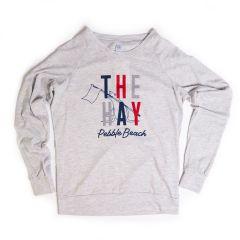 The Hay Women's Slouchy Crewneck by Alternative Apparel