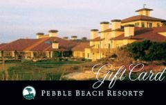 The Pebble Beach Gift Card