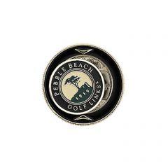 Pebble Beach Golf Links Magnetic Coin Holder & Ball Marker