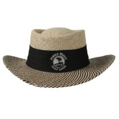 Pebble Beach Golf Links Plantation Straw Hat