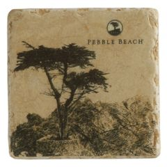 Pebble Beach Heritage Logo Coaster