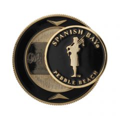 Spanish Bay Bagpiper Magnetic Coin Holder & Ball Marker