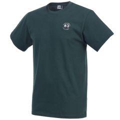 Pebble Beach Golf Cotton Jersey T-Shirt by Divots Sportswear -Green-XL