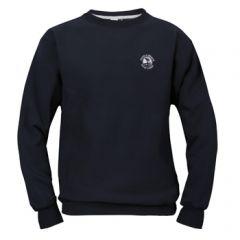 Pebble Beach Golf Men's Crew Neck Sweatshirt by Divots Sportswear -Navy-XL