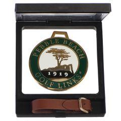 New Pebble Beach Golf Links Bag Tag -Green