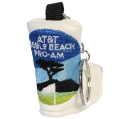 AT&T Pebble Beach Pro-Am Blade Putter Cover Keychain